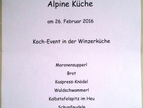 Alpine Küche mit Heu vom Stilfser Joch 2