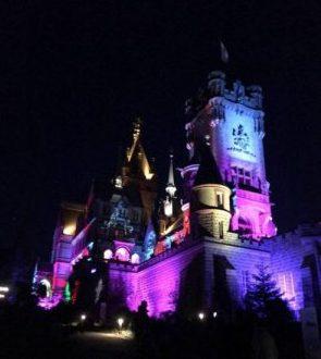 Grandiose Beleuchtung bei Nacht