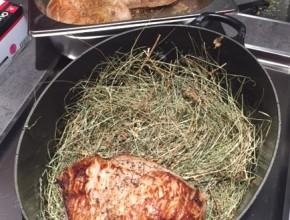 Alpine Küche mit Heu vom Stilfser Joch 8