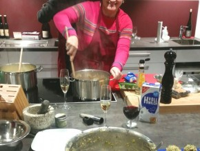 Alpine Küche mit Heu vom Stilfser Joch 5