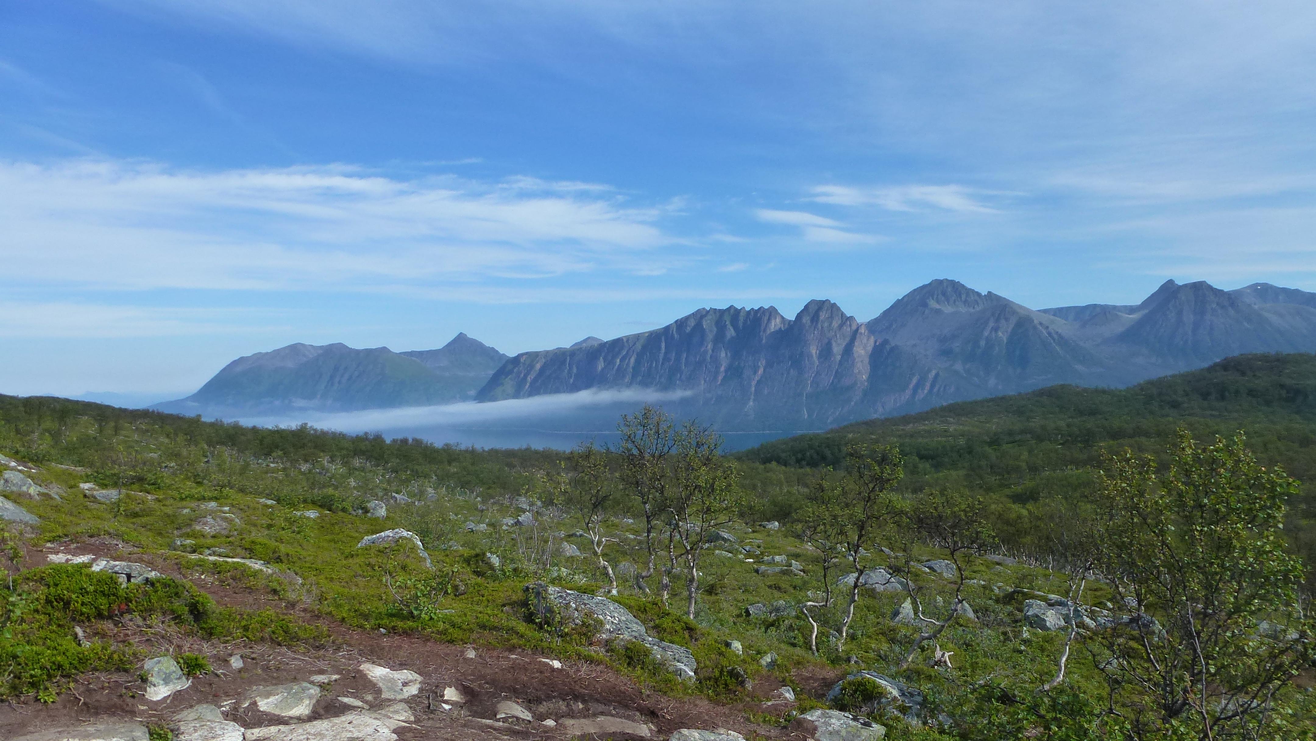 Berg Kjeipen nördlich von Harstad