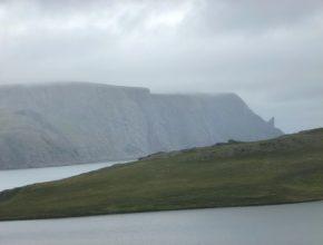 Blick zum Nordkapp