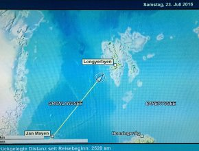 Karte Spitzbergen