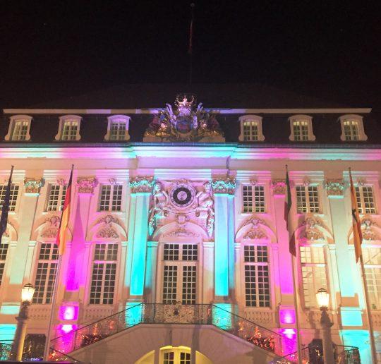 """""""Bonn leuchtet"""" ein ganzes Wochenende lang in bunten Farben 3"""