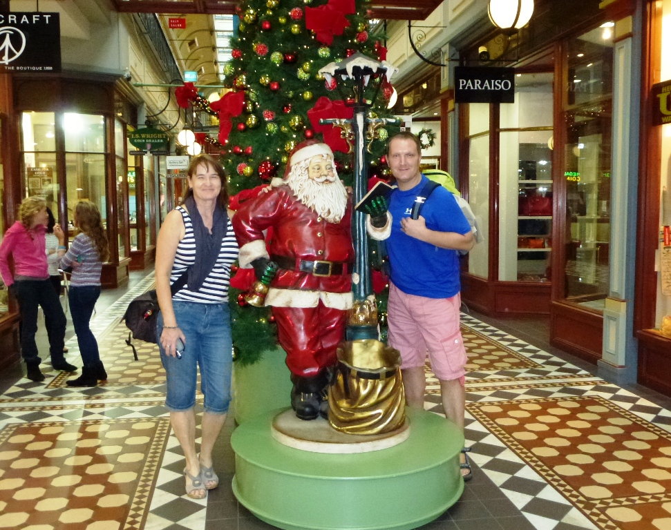 Weihnachtsmann in Melbourne