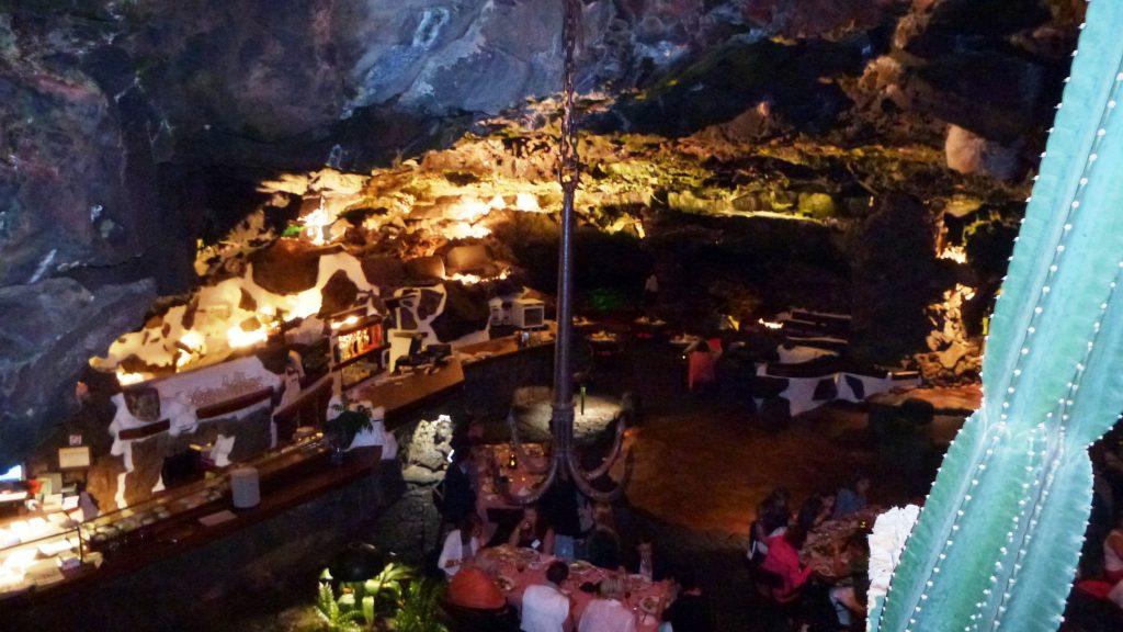 Das Höhlen-Restaurant von Jameo del Aqua (Foto: KULTREISEblog)