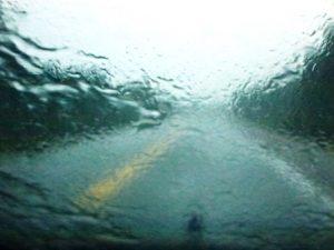 Cabot Trail im Regen