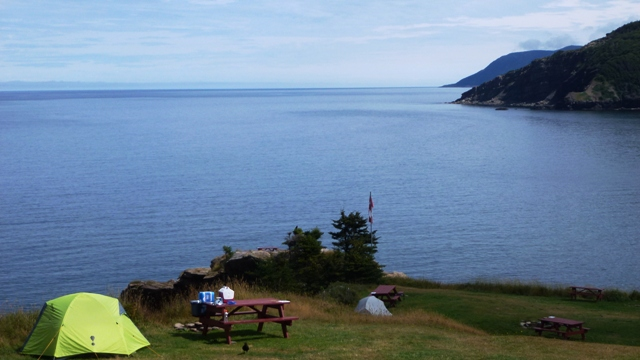 Campground Meat Cove