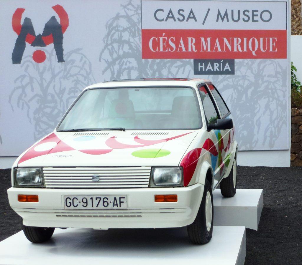 Selbst an diesem Auto erkennt man Manriques Handschrift. (Foto: KULTREISEblog)