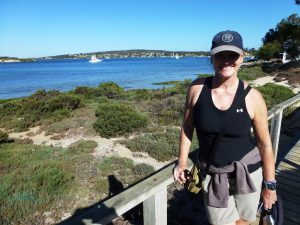Auf dem Oyster Walk in Coffin Bay, Australia
