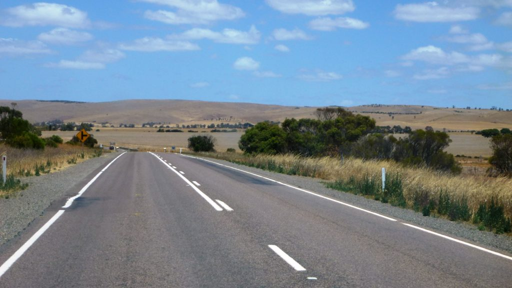 Highway Eyre Peninsula, Australien