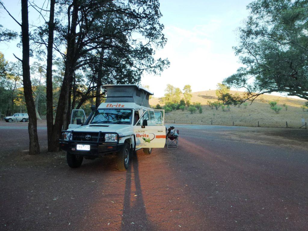 Unser 4WD Camper im Outback