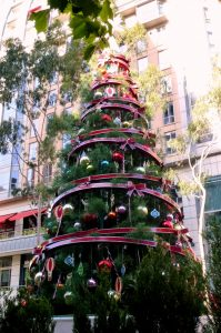 Weihnachtsdeko Sommer in Australien