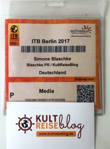 Mein Ausweis für die ITB Berlin 2017
