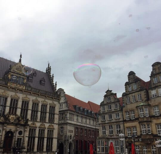 Seifenblasen Flashmob, eine sinnfreie Spaßaktion mit Kultfaktor 8