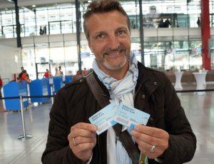 Bloggerkollege Ralf Rebe auf den Hamburg Cruise Days 2017