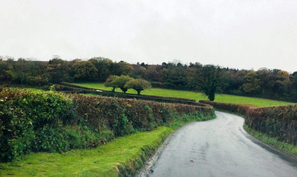 Ein Vorteil im November ist, dass die engen Straßen in Cornwall und Devon frei sind.