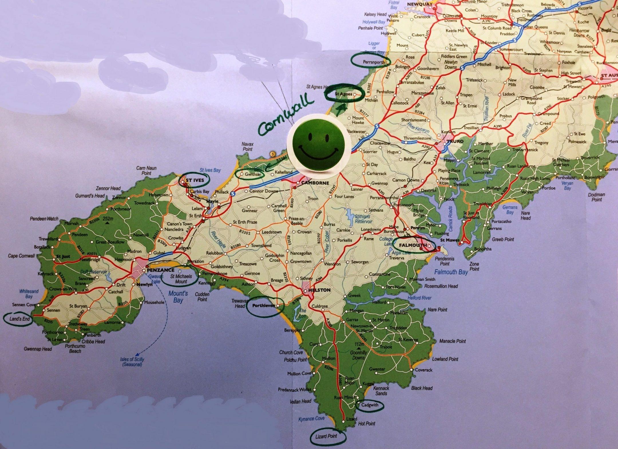 Cornwall im November hat viele Vorteile 21