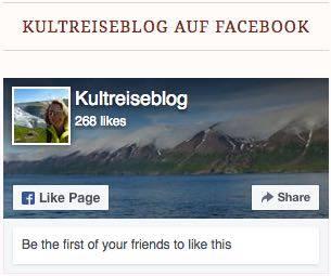 kultreiseblog auf Facebook