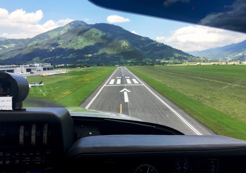 Im Sportflieger über die Alpen #Kultding des Monats Juli 10