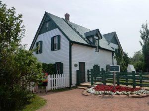 Das schöne Farmhouse von außen.