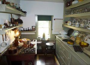 Die Küche war gut eingerichtet. Hier hätte ich auch wohnen wollen.