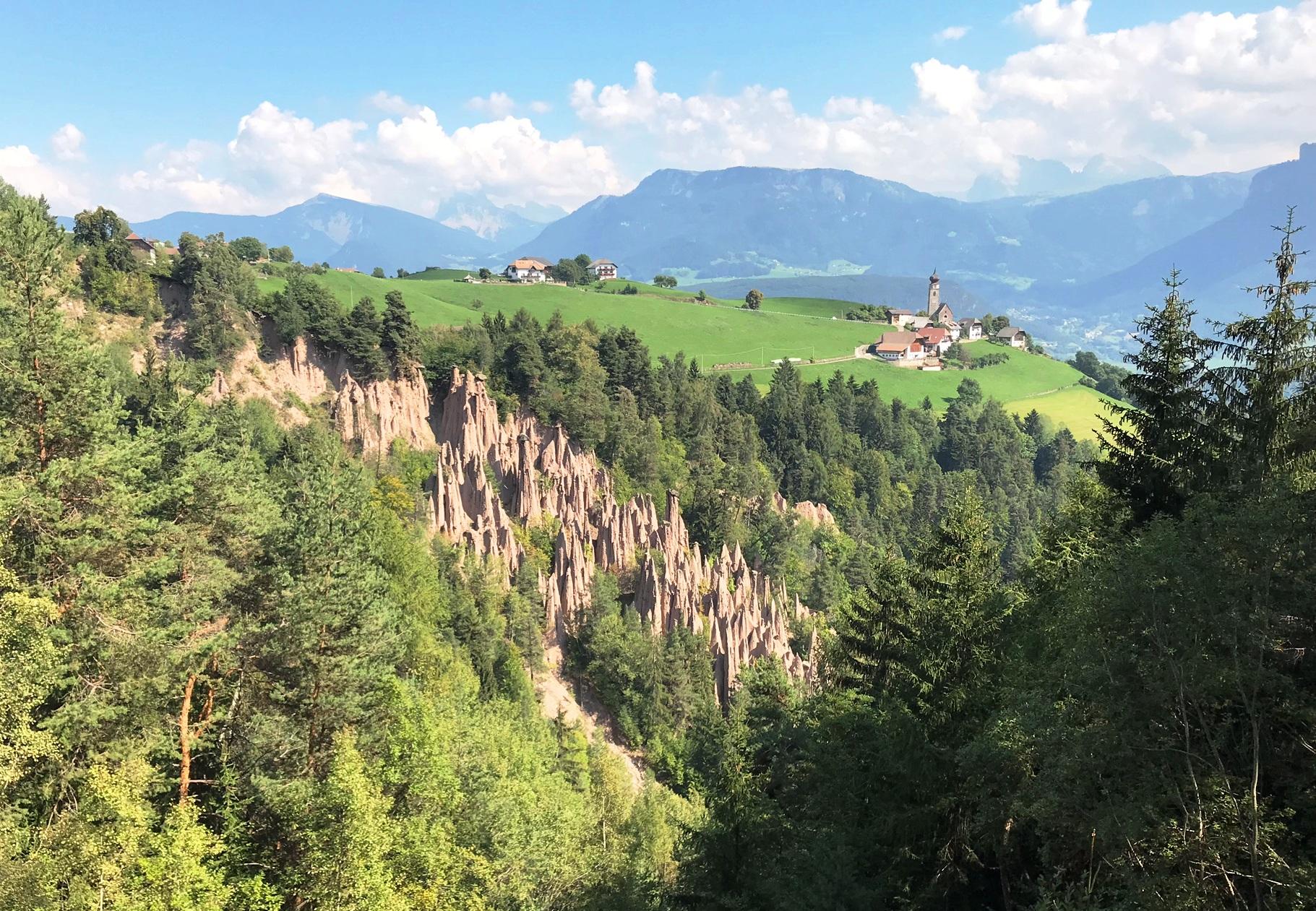 Südtiroler Erdpyramiden sind Naturwunder #Kultding des Monats Oktober 2