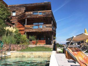 Unser Apartment mit Pool (Südtirol/KULTREISEblog)