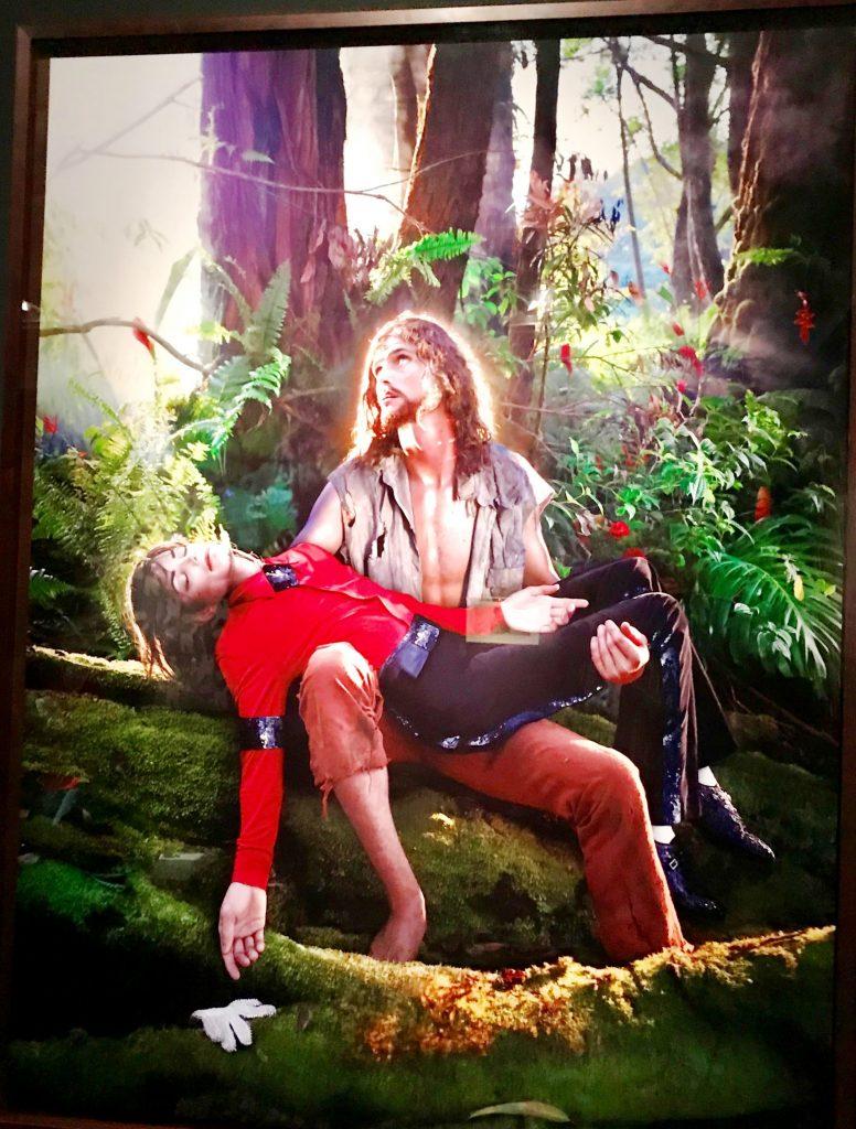 Der Künstler LaChapell hielt Jackson für eine heilige Figur voller Tragik. (Foto: KULTREISEblog)