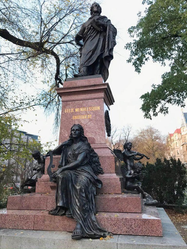 Mendelssohn Bartholdy, Bach, Schumann und viele andere Künstler. Leipzig schreibt Musikgeschichte. (Foto Simone Blaschke)