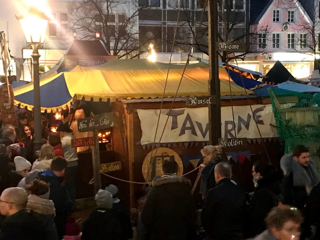 Mittelalterlicher Weihnachtsmarkt in Siegburg #Kultding des Monats Dezember 1
