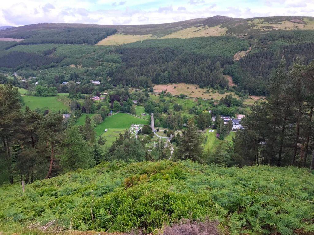 Der Wicklow Mountain Nationalpark im Osten Irlands ist wunderschön zum Wandern. (Foto: KULTREISEblog)