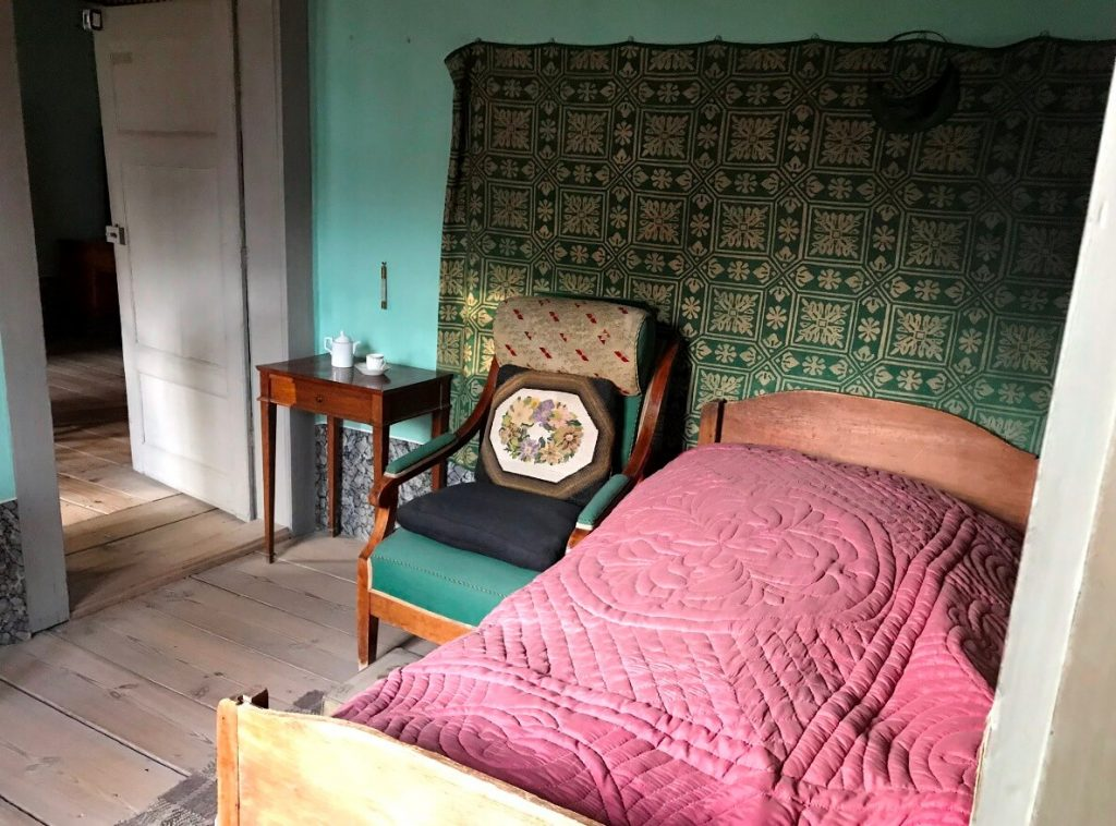In diesem Sessel starb Goethe im März 1832.