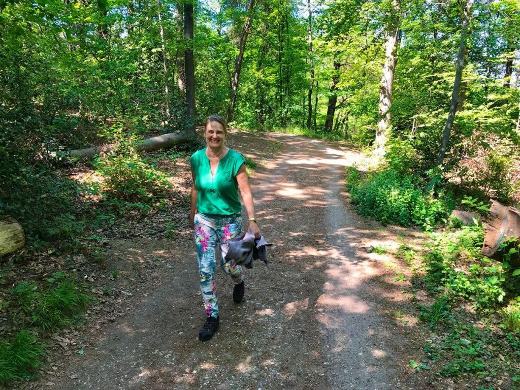 In diesen Zeiten frei und ohne Maske im Wald auf dem Venusberg zu laufen, tut meiner Seele so gut. (Foto Kultreiseblog)