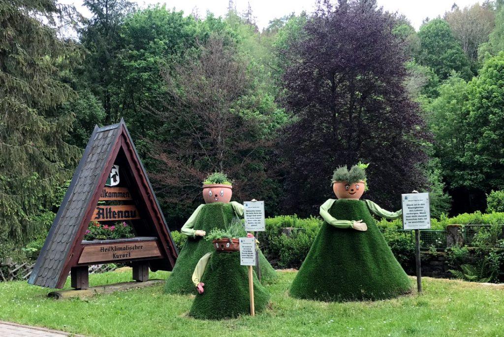 Würzel-Figuren sind das Symbol von Altenau. Foto: Kultreiseblog