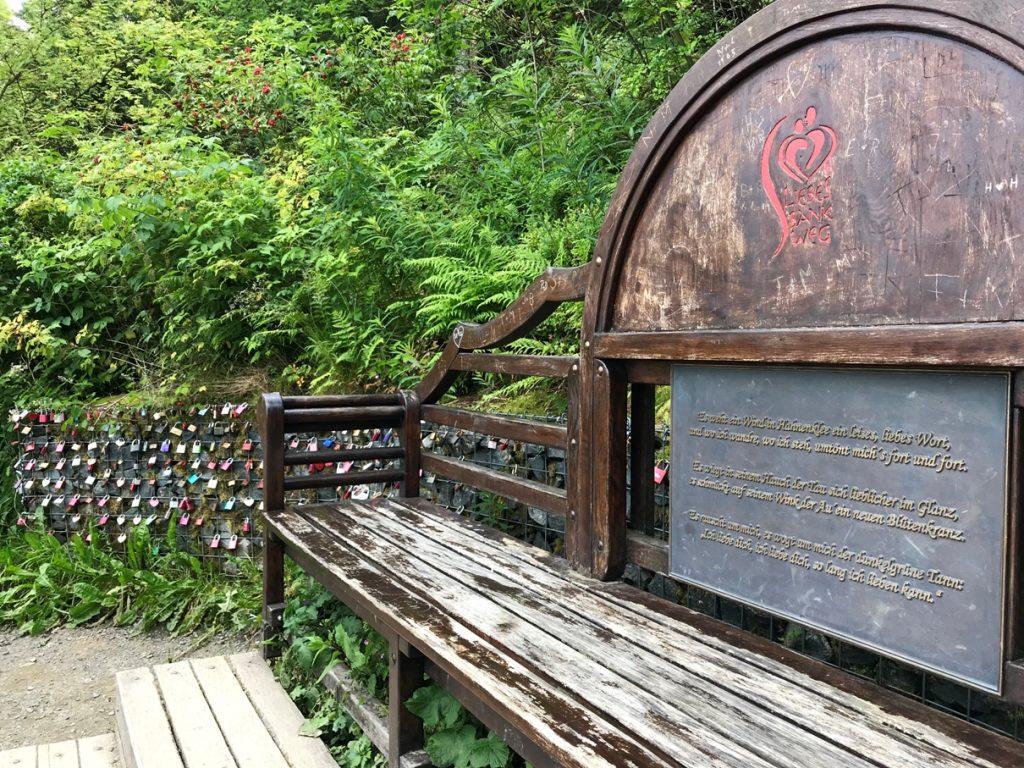 Liebesbankweg 4 Kultding des Monats (Foto Kultreiseblog)