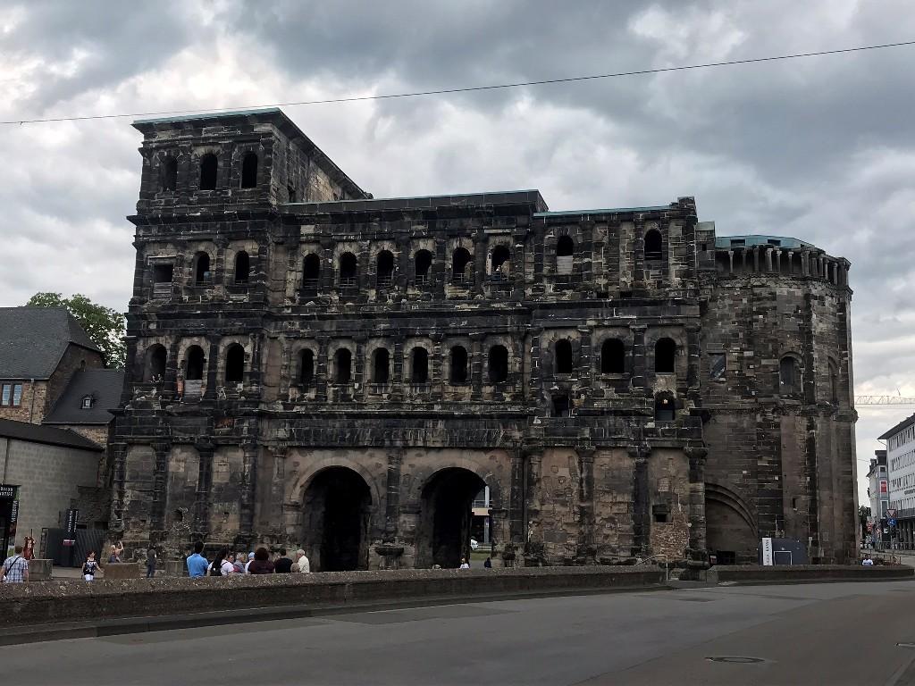 Die berühmte Porta Nigra in Trier besuchte ich im Juni 2020. (Foto Kultreiseblog)