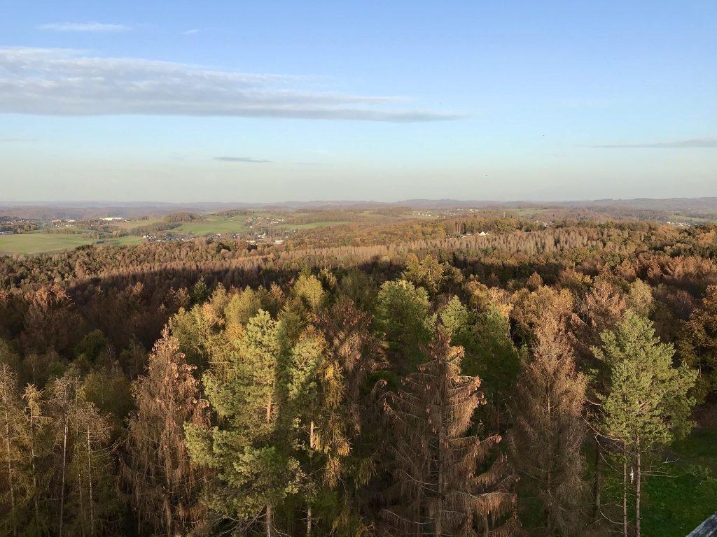 Blick ins Bergisch Land bei Nümbrecht. (Foto Kultreiseblog)