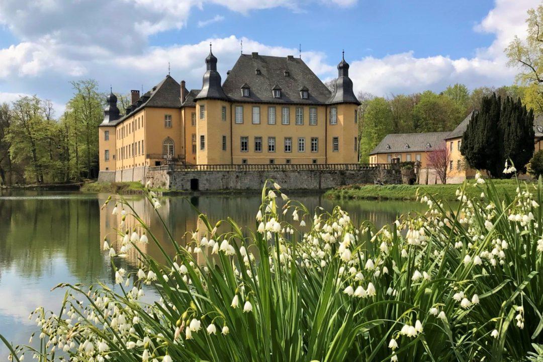 Schloss Dyck im Mai