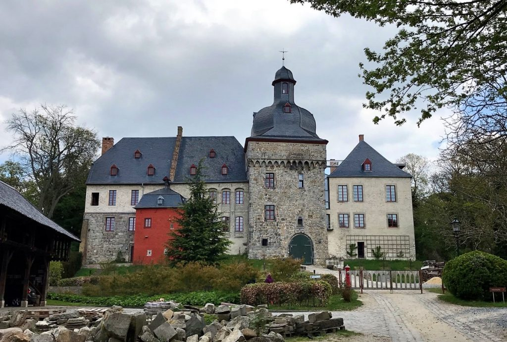 Schloss Liedberg in Korschenbroich.